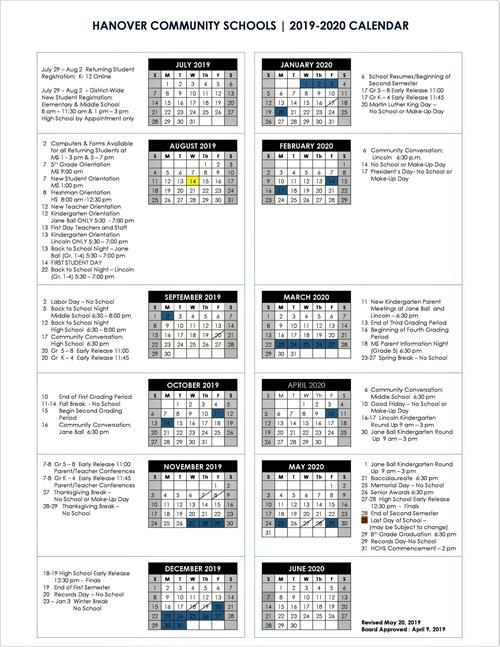Lincoln High School Graduation 2020.2019 2020 School Calendar