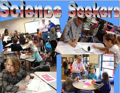 Collage of Science Seekers photos