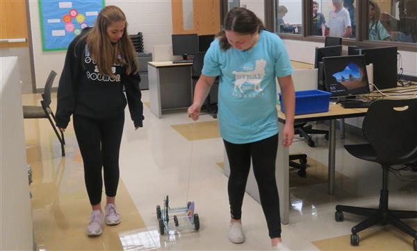 Pull Toy Project creates Team Work, Problem Solving