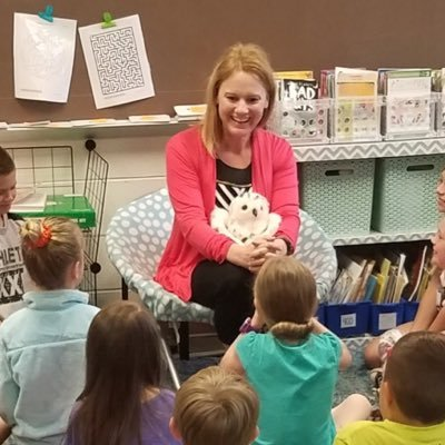 Ms. S with Snowy the Owl