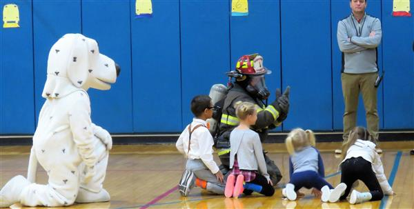 Sparky Makes Fire Safety Fun